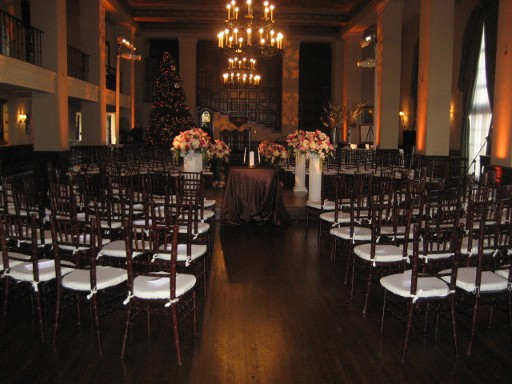 Party supplies dance floor furniture rentals los angeles ca wedding ceremony at the ebell of los angeles december 2008 junglespirit Images